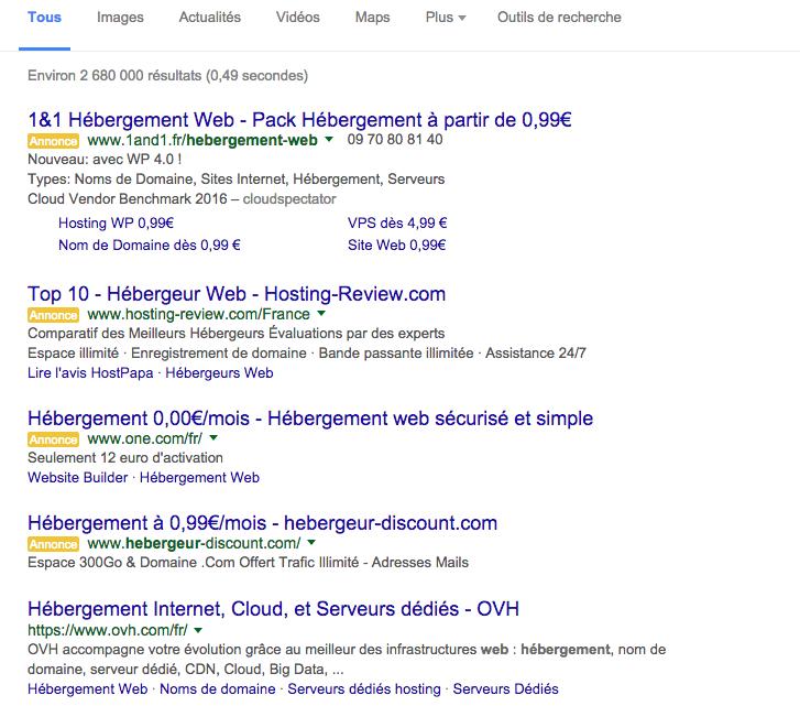 SEO référencement Google