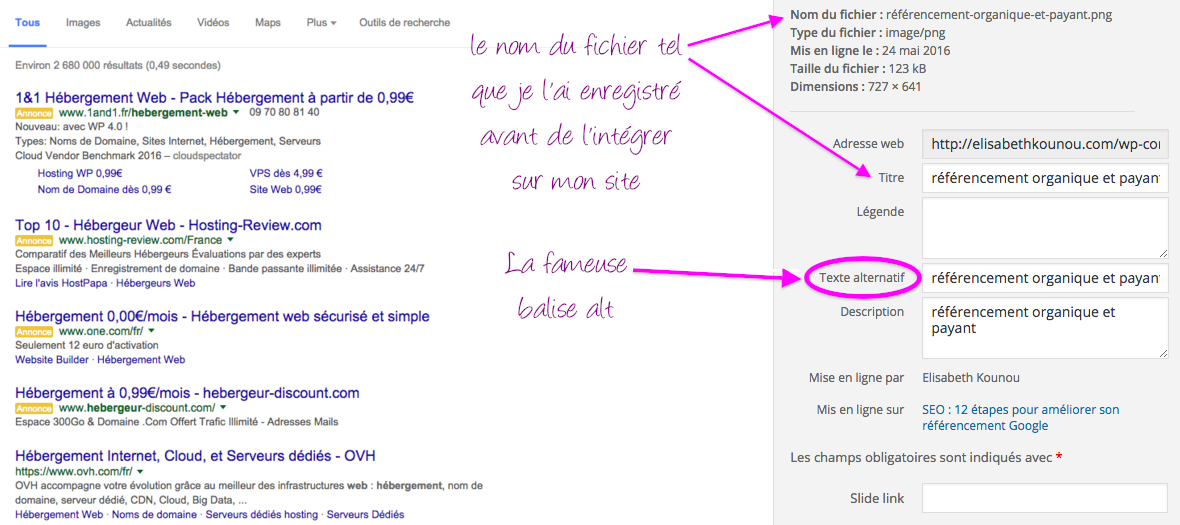 seo balise texte alternatif