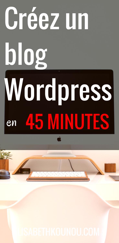 Créez un blog en 45 minutes