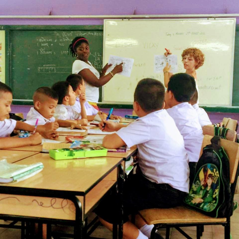 Cours d'anglais en Thailande