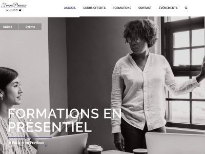 Site Femmepreneuse Academy