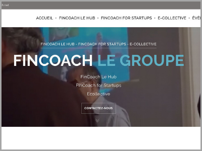 Site Fincoach le groupe